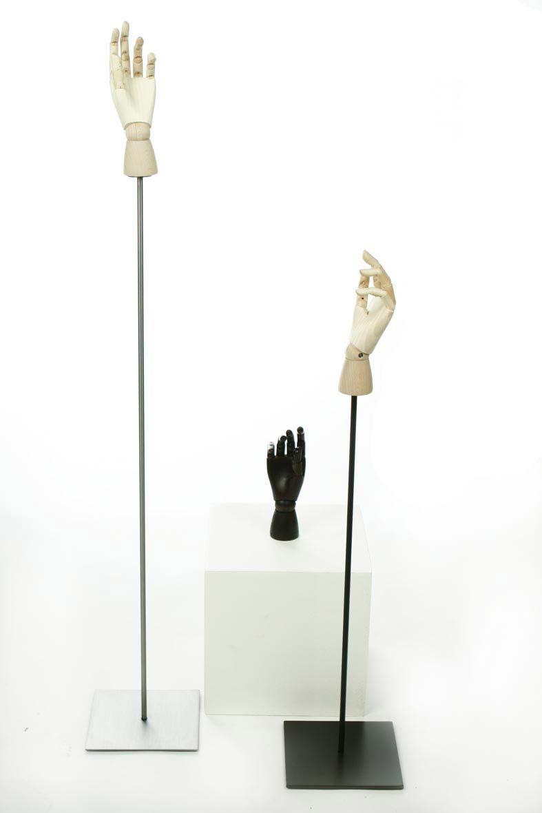 Wooden Hands - Houten handen - Displays