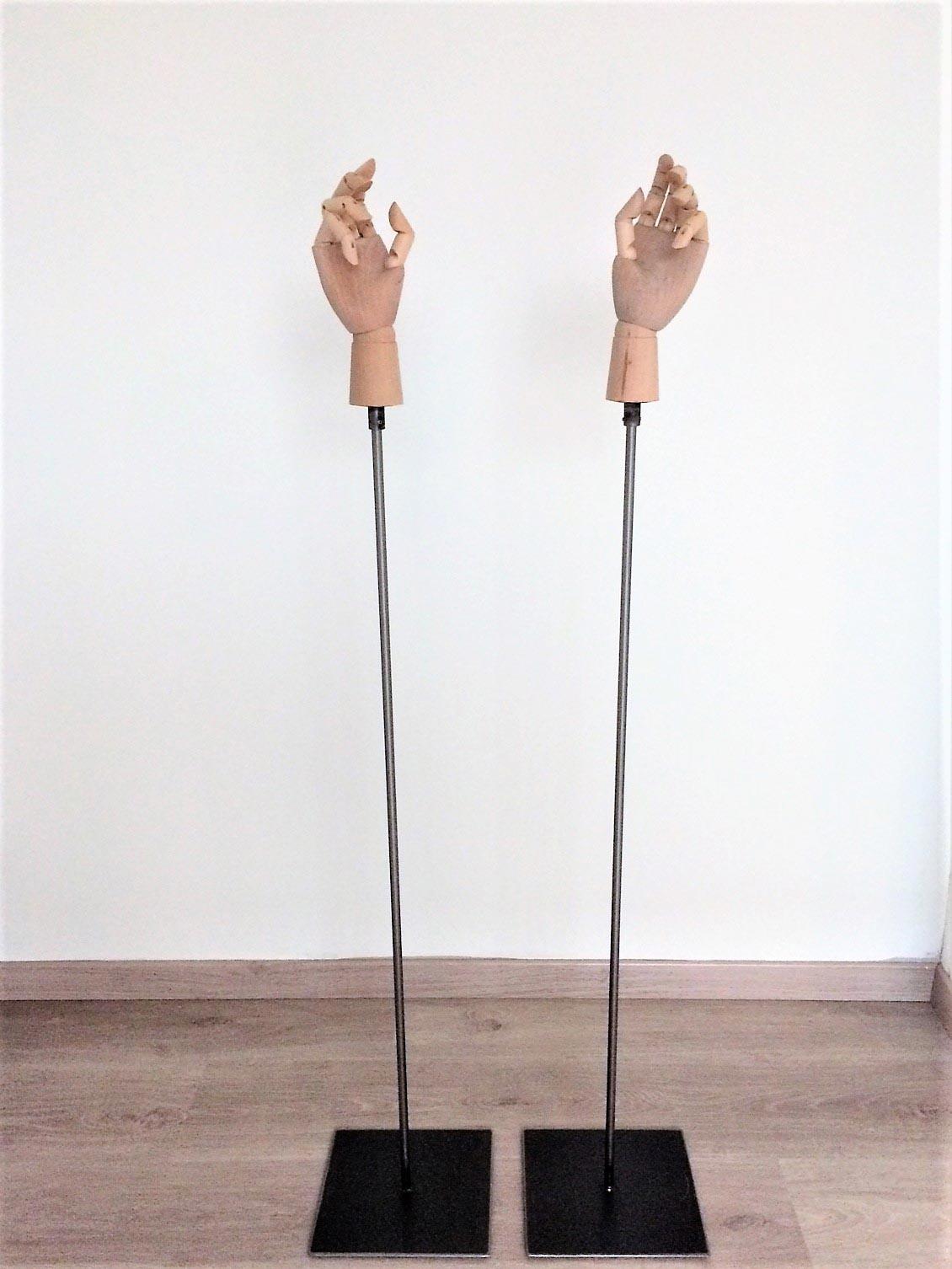 ACB Displays - Mannequins - Paspoppen - Houten handen